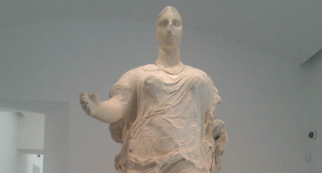 Statua della Venere di Morgantina in Aidone