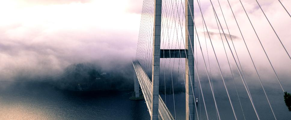 Ponte grigio La Ragione