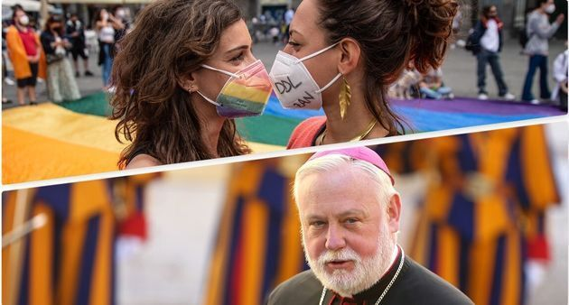 vaticano Paul Richard Gallagher ddl zan
