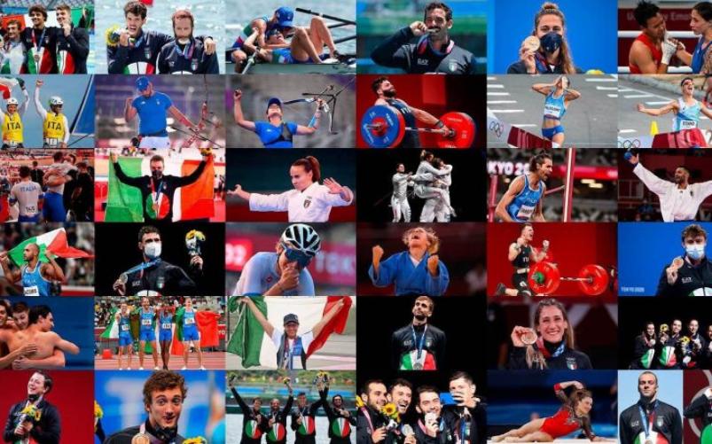 Tokyo 2020 tutte le medaglie dell'Italia
