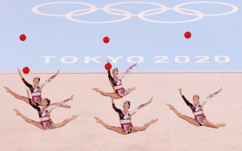 ginnastica ritmica italiana è bronzo alle Olimpiadi di Tokyo2020