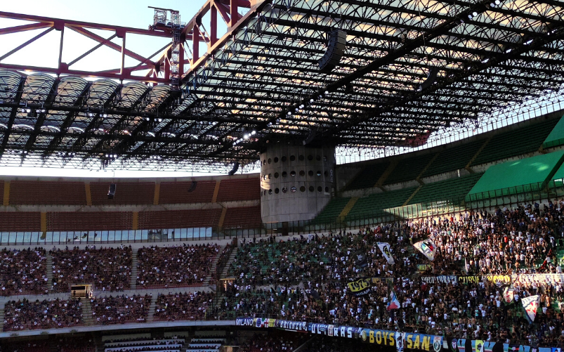 Inter Genoa San Siro Curva Nord