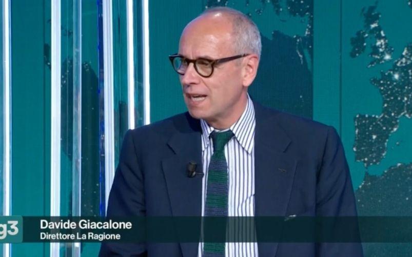 Davide Giacalone al Tg3 Linea Notte