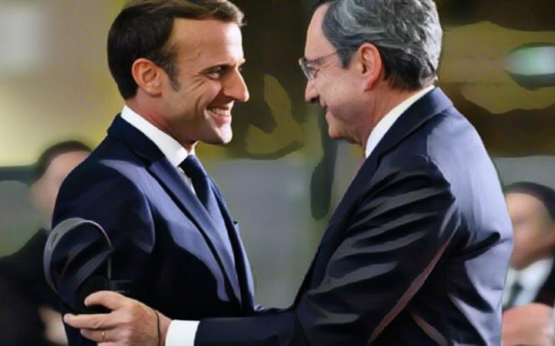 asse Draghi Macron