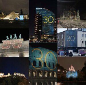 30 nel mondo