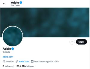 Adele social